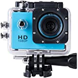 SJ4000 Full HD 1080P Camera 12MP 30M Waterproof Sports Action Camera DV CAR DVR Support SD To 32GB (Blue)