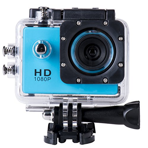 SJ4000 Full HD 1080P Camera 12MP 30M Waterproof Sports Action Camera DV CAR DVR Support SD To 32GB (Blue) by Finelook