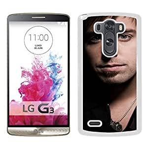 Beautiful Designed Cover Case With Jeremy Camp Face Bristle Shirt Chain (2) For LG G3 Phone Case