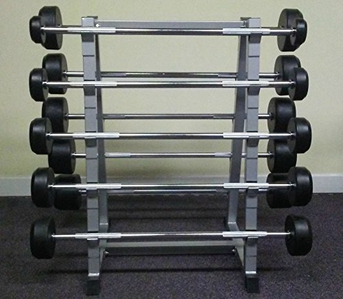 PowerFit Fixed Weight Barbell Set by PowerFit Equipment