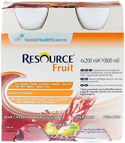 RESOURCE Fruit Birne Kirsche 4X200 ml