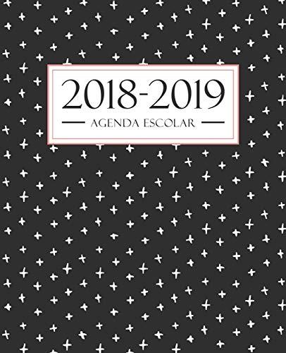 Agenda Escolar 2018-2019: 190 X 235 MM: Agenda 2018-2019 Semana Vista Español: 160 G/M² Agenda Semanal 12 Meses: Moderno...