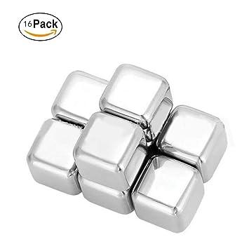 Whiskey Stones - Cubitos de hielo de acero inoxidable ...