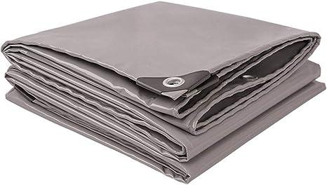 ZXXY Lona Impermeable, Cubierta de Lona de Uso rudo Multiusos Gris para pérgola para Acampar y Cubierta de Patio Trasero, 520 g/Cuadrado,2x3: Amazon.es: Deportes y aire libre