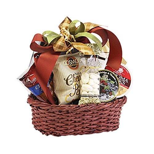 Lina Epicure Vancouver Oval Tray Paper Dark Brown Gourmet Gift Basket (Gourmet Gift Baskets Vancouver)