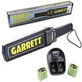 Cheap Garrett Super Scanner V Hand Held Metal Detector w/ 9V Rechargeable Battery Kit