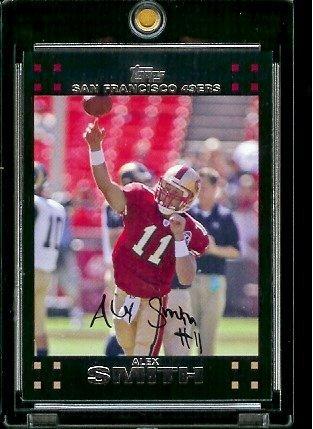 - 2007 Topps Football # 38 Alex Smith QB - San Francisco 49ers - NFL Trading Cards