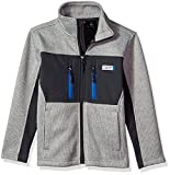 32 DEGREES Weatherproof Little Boys' Weatherproof Outerwear Jacket (More Styles Available), Syder Fleece Heather Grey/Charcoal, 7