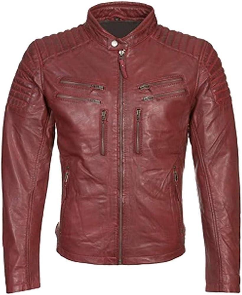 Stormwise Womens Fashion Stylish Leather Biker Jacket