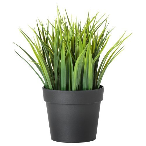 Ikea Artificial Potted Plant, Wheat Grass, 7.75 Inch (Grass Ikea)