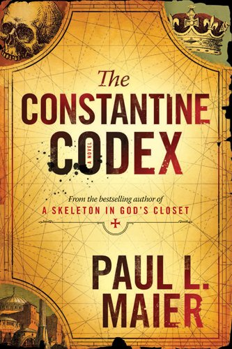 Book cover for The Constantine Codex