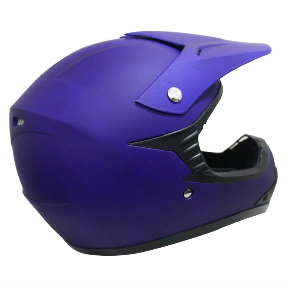 Matt Black L 53-54cm Leopard LEO-X15 Kids MX Motocross Helmet Children Motorbike Dirty Bike Helmet