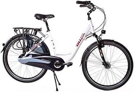 Mifa Premium - Bicicleta, Dinamo de Buje de 7 Velocidades Shimano Nexus, Rueda de 26 Pulgadas Continental: Amazon.es: Deportes y aire libre