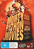 Monty Python and Now For Something Completely Different / Life of Brian / Holy Grail / Meaning of Life   4 Discs   NON-USA Format   PAL   Region 4 Import - Australia