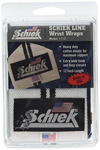 Schiek Sports Line Wrist Wraps, 12 inch