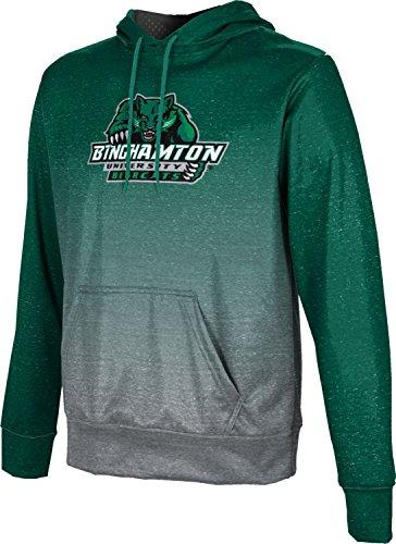 ProSphere Binghamton University Men's Pullover Hoodie, School Spirit Sweatshirt (Ombre) FCF71 ()