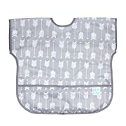 Bumkins Baby Toddler Bib, Waterproof Junior Bib, Arrow (1-3 Years)