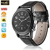 MIEBUL 16GB Wrist Smart Watch Camera HD 1080P Infrared Night Vision High-end Camera(Black)