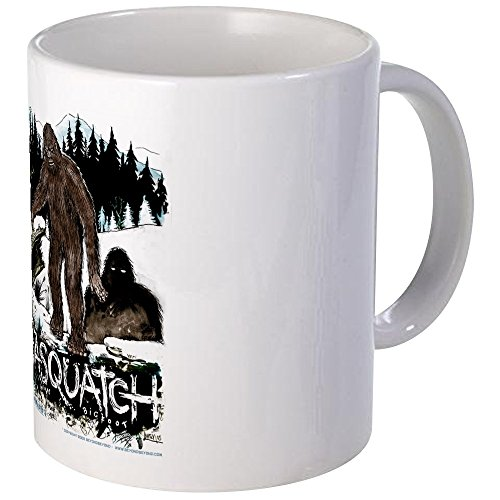 CafePress - Sasquatch Bigfoot Cryptozoology Set Mug - Unique Coffee Mug, Coffee Cup