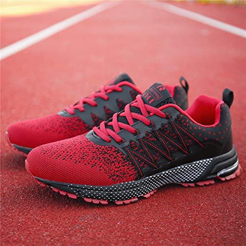 Femme Basket Chaussures de Sport Running Course Sport Fitness Sneakers Chaussures de Running sur Route Outdoor Casual