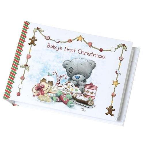 babys first christmas me to you bear photo album amazon co uk toys