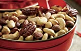Deluxe Mixed Nuts Gift Tin from Wisconsin Cheeseman