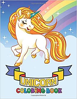 unicorn coloring book 8.5×11: unicorn coloring book for ...