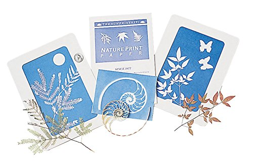 "Nature Print Sun-Sensitive Paper Sheets (12 Pack) 5 1/2"" x 7 1/2"" NaturePrint"