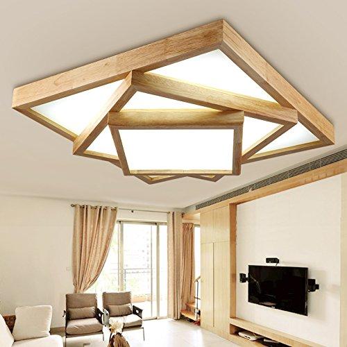 Damjic Im Japanischen Stil Wohnzimmer Massivholz Deckenleuchte