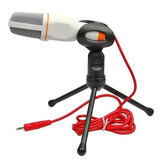 YEE Micrófono Condensador Kit Plug and Play de Escritorio ...