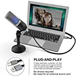 (Renewed) Fifine K670 PC Microphone for Windows and MAC for Recording, Streaming Twitch, Voice Overs, Skype and Podcasting for YouTube