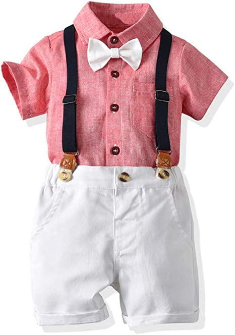 AEPEDC Ropa para Niños Moda Ropa para Niños Camisa Rosada ...