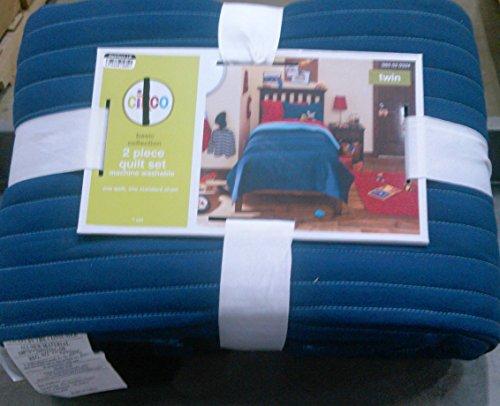Circo 2-Piece Quilt Set Blue Size Twin