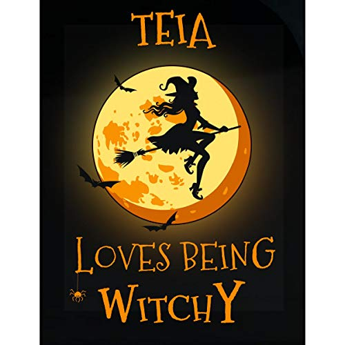 Inked Creatively Teia Loves Being Witchy Sticker]()