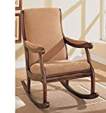Furnish Living Wooden Rocking Chair