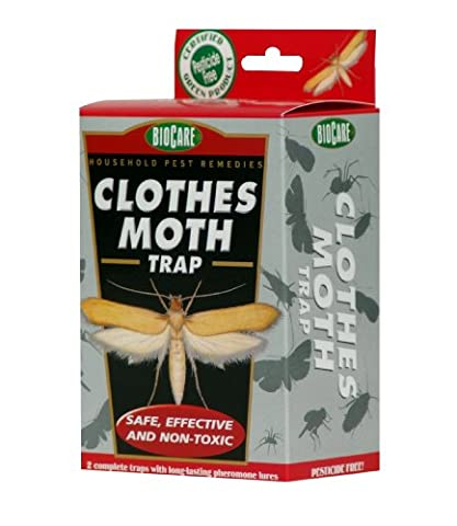 Springstar S1524 Jumbo Clothes Moth Trap (Moths Spray)