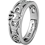 Claddagh Ring LS-ULS-6157 - Size: 7