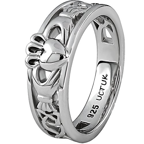 (Claddagh Ring LS-ULS-6157 - Size: 7)