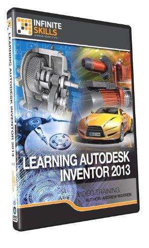 Learning Autodesk Inventor 2013 Training DVD by Infiniteskills