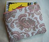 PASTEL PAISLEY Tarot Bag- Silk Lined Pouch (Limited Edition Tarot Bags)