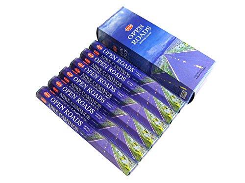 Open Roads - Box of Six 20 Stick Tubes - HEM Incense
