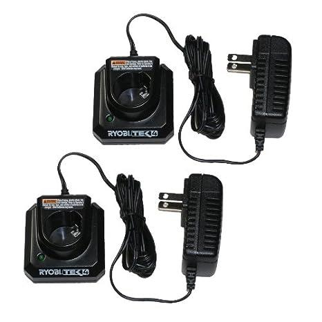 Amazon.com: Ryobi TEK4 (2 unidades) – 4 V Litio Cargador ...