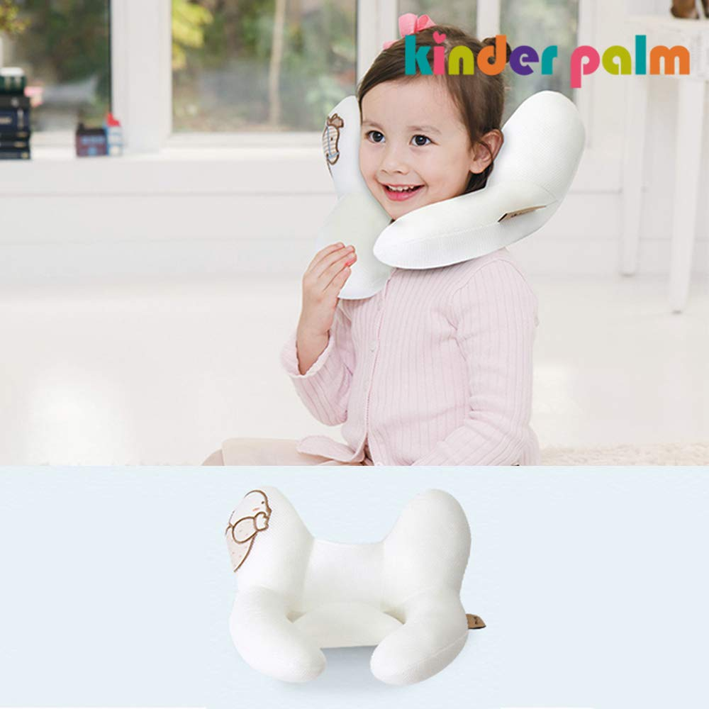 Head and Neck Support Baby Cooling Pillow L line Bear