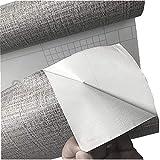 Linen Pattern Waterproof Shelf Drawer Liner