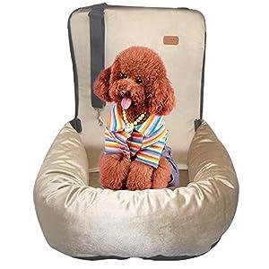 ZEEXIPDR Autositz für Hunde,Autositze für Haustiere,Der hochwertige Hundesitz bietet eine komfortable und sichere…