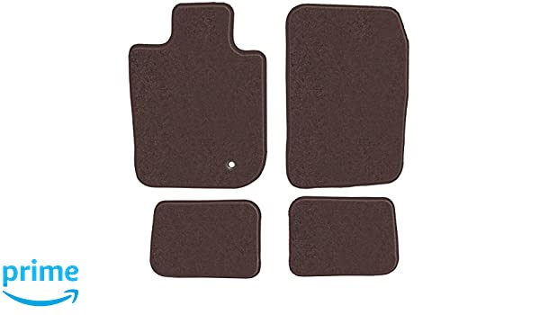 Passenger /& Rear 1982 1987 1983 1986 1988 Chevrolet Monte Carlo Brown Driver 1984 1985 GGBAILEY D3855A-S1A-CH-BR Custom Fit Automotive Carpet Floor Mats for 1981