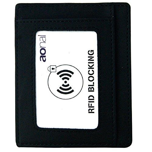 Pocket Wallet Leather Business Blocking