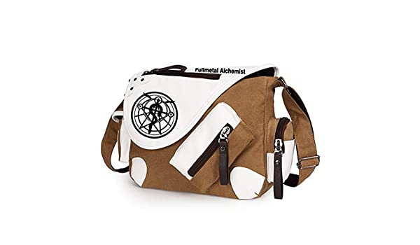 YOYOSHome Anime Fullmetal Alchemist Cosplay Messenger Bag Backpack Shoulder Bag 36 Styles