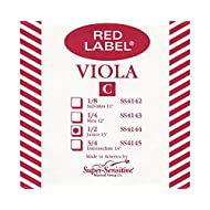 Supersens 14144 Red Label Viola C String, 13-Inch Junior Size