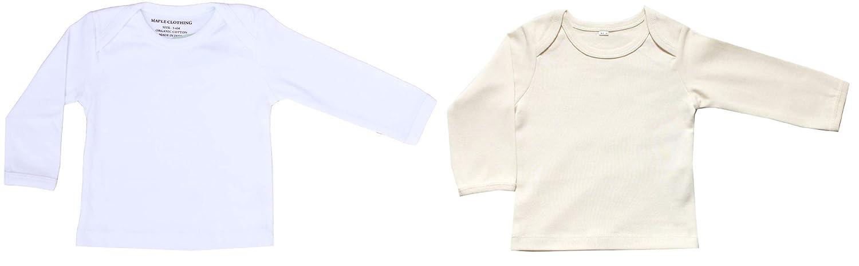 Organic Cotton Baby Clothing Long Sleeve T-Shirt GOTS Certified